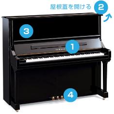 ピアノ確認項目